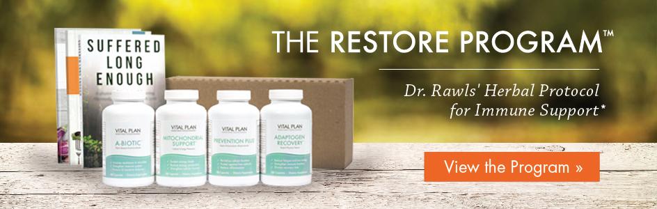 Dr. Rawls' Restore Program for Immune Support