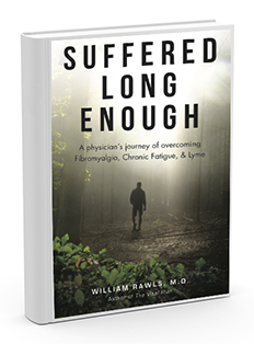 Suffered Long Enough book about overcoming Lyme disease, fibromyalgia, and Chronic Fatigue Syndrome