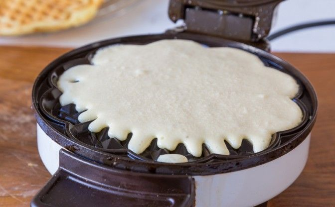 wheat free homemade waffle recipe