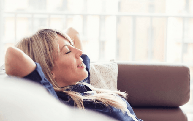 Relaxed breathing techniques