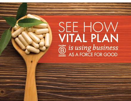 Vital Plan B Corp Story