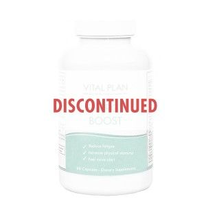 Energy Boost Discontinued