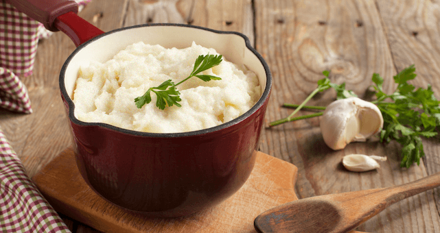 Cauliflower Mashed Potato