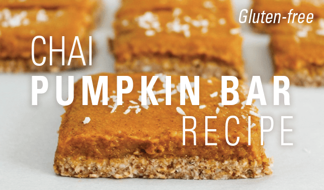 Gluten-Free Chai Pumpkin Bars Recipe | Vital Plan