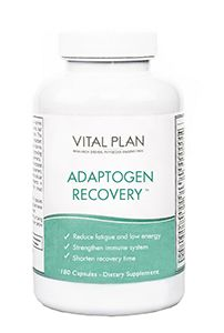 vital plan adaptogen recovery supplement