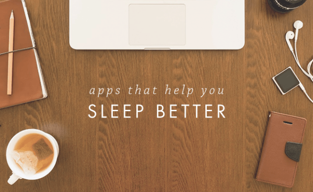 Apps for Improving Sleep