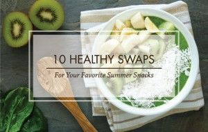 Vital Plan Healthy Summer Snack Foods