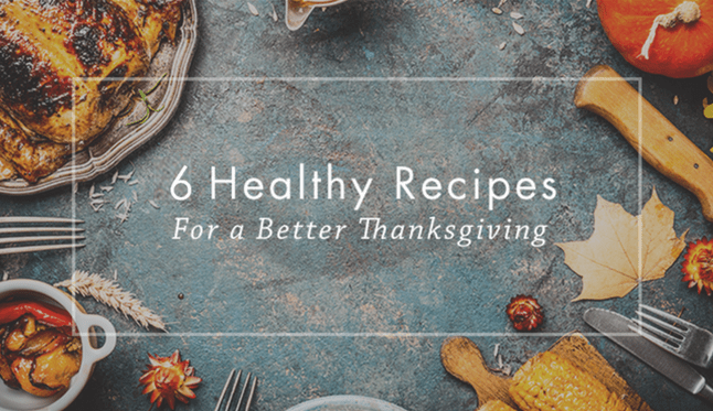 Health recipes for Thanksgiving meals