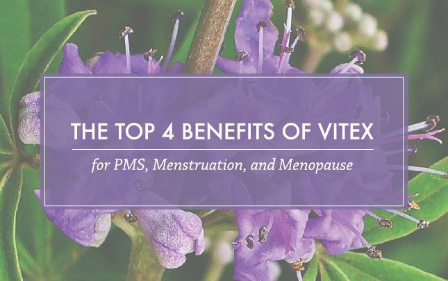 The 4 Menstrual and Menopausal Conditions Vitex Supports