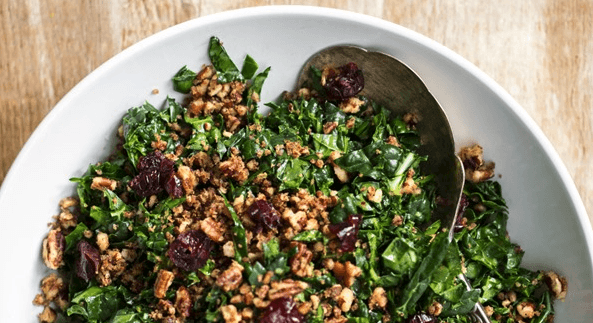 Best Shredded Kale Salad Recipe
