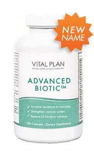 Vital Plan Advanced Biotic Natural Supplement