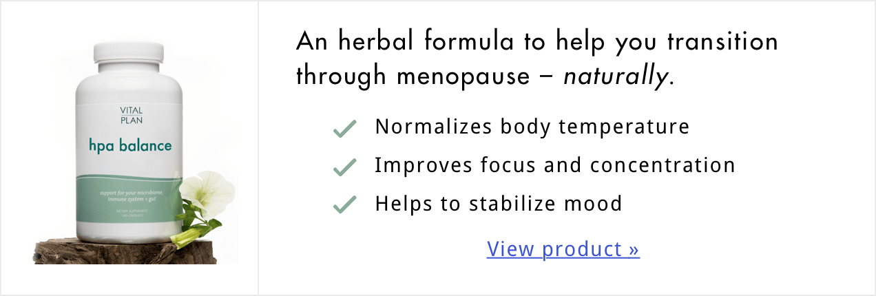 HPA Balance for Menopause