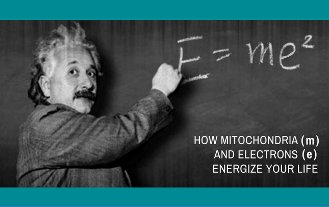 How mitochondria and electrons energize your life
