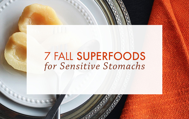 7 Fall Superfoods for Sensitive Stomachs