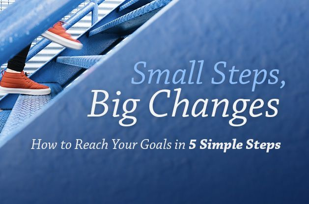 Small Steps, Big Changes: How to Reach Your Goals in 5 Simple Steps