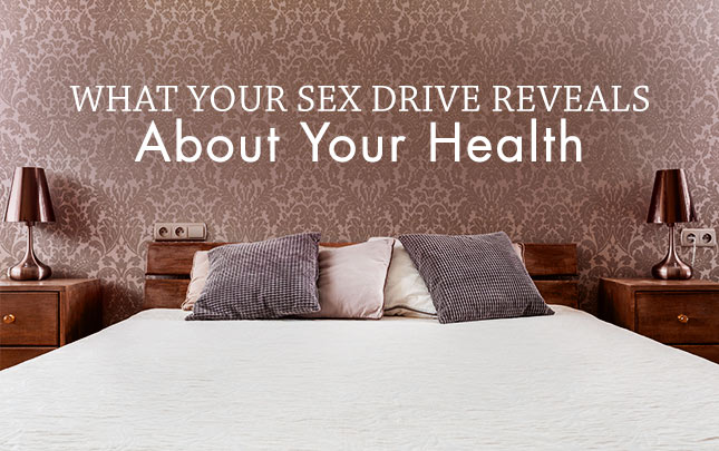 What your sex drive reveals about your health, folded bed image