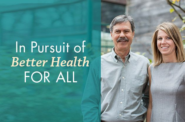 In Pursuit of Better Health for All