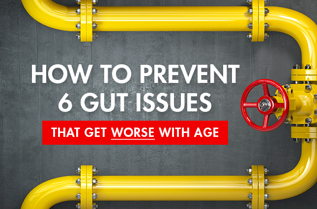 How to Prevent 6 Gut Issues That Get Worse With Age