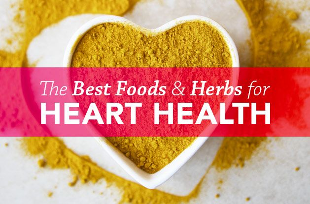 The Best Foods & Herbs for Heart Health