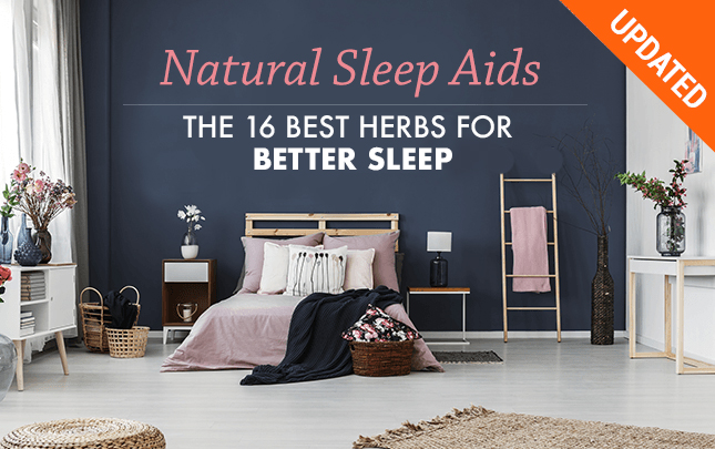 Natural Sleep Aids: The 15 Best Herbs for Sleep