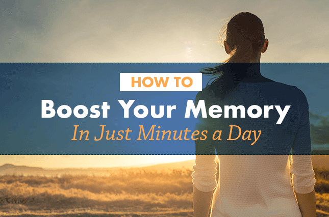 How to Boost Your Memory in Just Minutes a Day