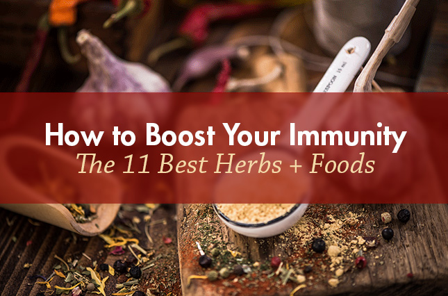 How to Boost Your Immunity: The 11 Best Herbs + Foods