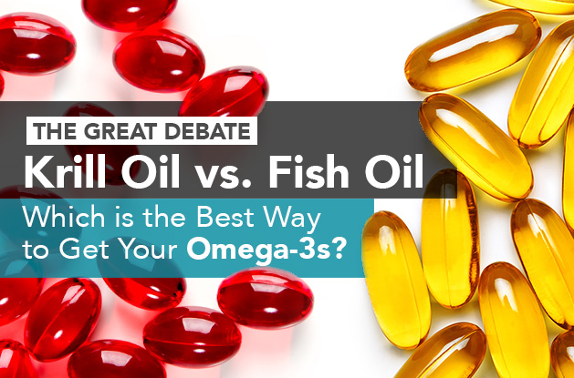 The Great Debate: Krill Oil vs. Fish Oil
