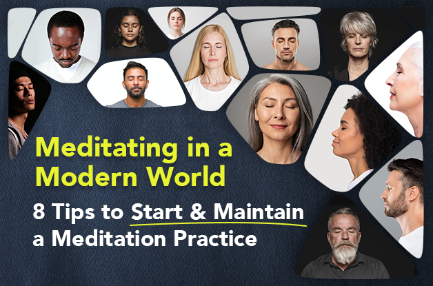 Meditating in a Modern World: 8 Tips to Start & Maintain a Meditation Practice | Vital Plan